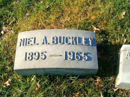 BUCKLEY, NIEL  A - Clermont County, Ohio   NIEL  A BUCKLEY - Ohio Gravestone Photos