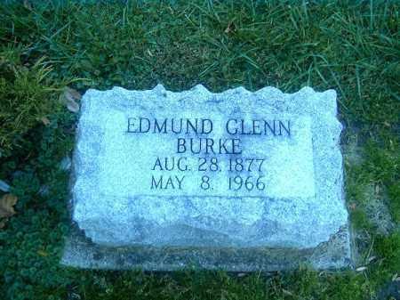 BURKE, EDMUND  GLENN - Clermont County, Ohio   EDMUND  GLENN BURKE - Ohio Gravestone Photos