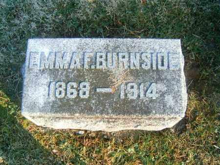 BURNSIDE, EMMA  F - Clermont County, Ohio | EMMA  F BURNSIDE - Ohio Gravestone Photos
