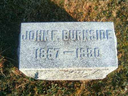 BURNSIDE, JOHN  F - Clermont County, Ohio | JOHN  F BURNSIDE - Ohio Gravestone Photos