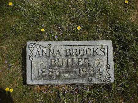 BROOKS BUTLER, ANNA - Clermont County, Ohio | ANNA BROOKS BUTLER - Ohio Gravestone Photos
