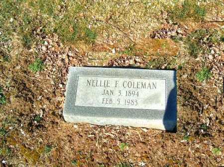 COLEMAN, NELLIE - Clermont County, Ohio | NELLIE COLEMAN - Ohio Gravestone Photos