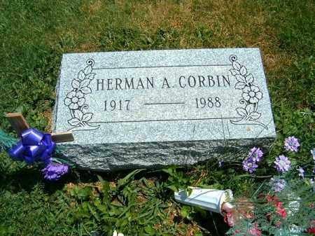 CORBIN, HERMAN   A - Clermont County, Ohio   HERMAN   A CORBIN - Ohio Gravestone Photos
