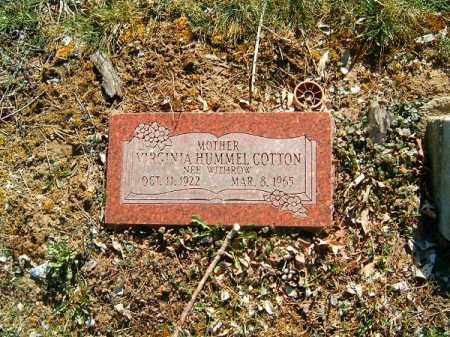 COTTON, VIRGINIA - Clermont County, Ohio | VIRGINIA COTTON - Ohio Gravestone Photos