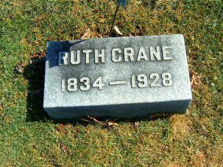CRANE, RUTH - Clermont County, Ohio | RUTH CRANE - Ohio Gravestone Photos