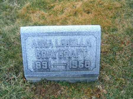CRAYCRAFT, ANNA  LOUELLA - Clermont County, Ohio | ANNA  LOUELLA CRAYCRAFT - Ohio Gravestone Photos