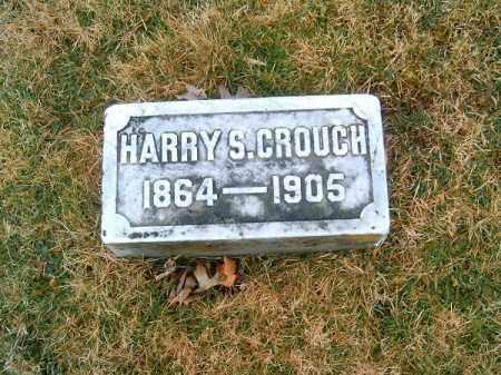 CROUCH, HARRY  S - Clermont County, Ohio | HARRY  S CROUCH - Ohio Gravestone Photos