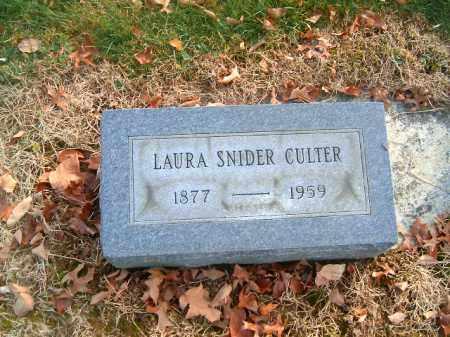 CULTER, LAURA - Clermont County, Ohio | LAURA CULTER - Ohio Gravestone Photos