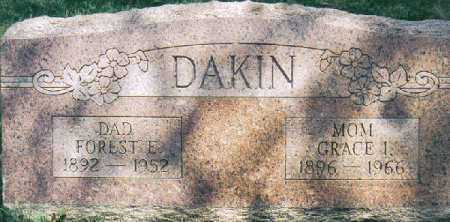 DAKIN, GRACE IDA - Clermont County, Ohio   GRACE IDA DAKIN - Ohio Gravestone Photos