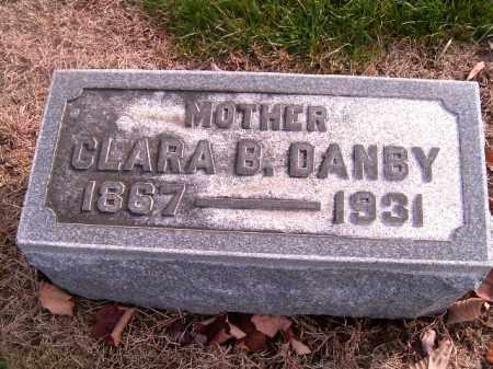 DANBY, CLARA B - Clermont County, Ohio | CLARA B DANBY - Ohio Gravestone Photos