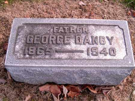 DANBY, GEORGE - Clermont County, Ohio | GEORGE DANBY - Ohio Gravestone Photos