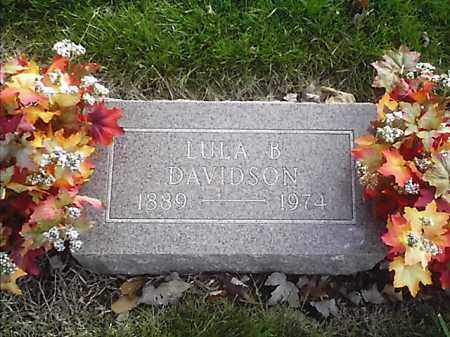 DAVIDSON, LULA B - Clermont County, Ohio | LULA B DAVIDSON - Ohio Gravestone Photos