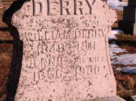 DERRY, JENNIE - Clermont County, Ohio | JENNIE DERRY - Ohio Gravestone Photos