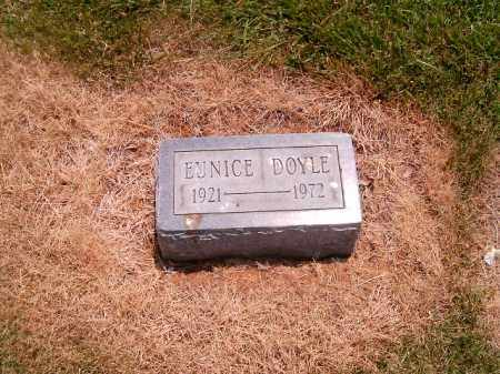 DOYLE, EUNICE - Clermont County, Ohio   EUNICE DOYLE - Ohio Gravestone Photos