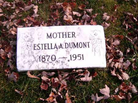 DUMONT, ESTELLA  A - Clermont County, Ohio | ESTELLA  A DUMONT - Ohio Gravestone Photos