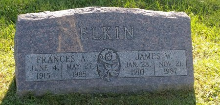 ELKIN, JAMES W. - Clermont County, Ohio | JAMES W. ELKIN - Ohio Gravestone Photos