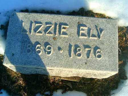 ELY, LIZZIE - Clermont County, Ohio | LIZZIE ELY - Ohio Gravestone Photos