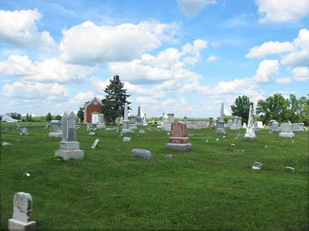 FELICITY, CEMETERY VIEW- FACING NORTH - Clermont County, Ohio | CEMETERY VIEW- FACING NORTH FELICITY - Ohio Gravestone Photos
