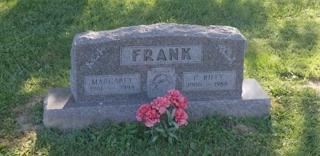 FRANK, C. RILEY - Clermont County, Ohio | C. RILEY FRANK - Ohio Gravestone Photos