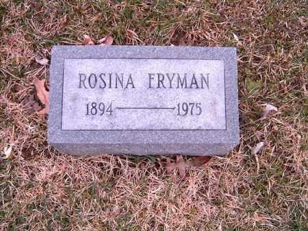 FRYMAN, ROSINA - Clermont County, Ohio | ROSINA FRYMAN - Ohio Gravestone Photos