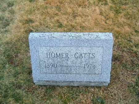 GATTS, HOMER - Clermont County, Ohio | HOMER GATTS - Ohio Gravestone Photos