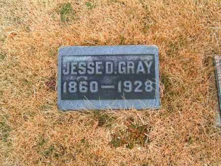 GRAY, JESSE  D - Clermont County, Ohio | JESSE  D GRAY - Ohio Gravestone Photos