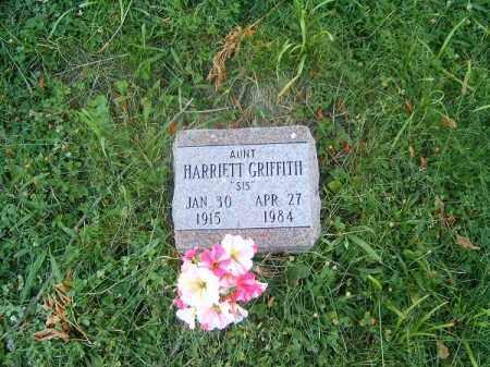 GRITTITH, HARRIETT - Clermont County, Ohio   HARRIETT GRITTITH - Ohio Gravestone Photos