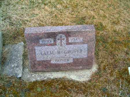 GROVER, CLEM   B - Clermont County, Ohio | CLEM   B GROVER - Ohio Gravestone Photos