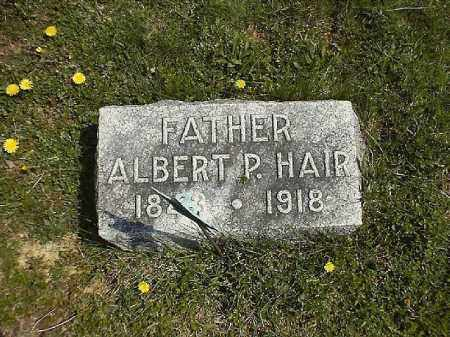 HAIR, ALBERT   P - Clermont County, Ohio | ALBERT   P HAIR - Ohio Gravestone Photos