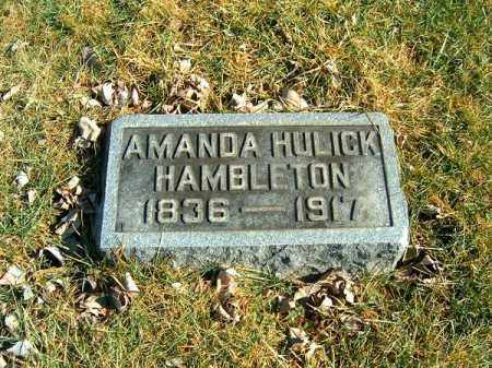 HAMBLETON, AMANDA - Clermont County, Ohio | AMANDA HAMBLETON - Ohio Gravestone Photos