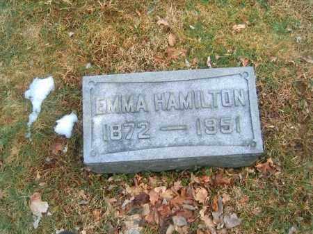 HAMILTON, EMMA - Clermont County, Ohio   EMMA HAMILTON - Ohio Gravestone Photos
