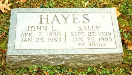 HAYES, SALLY - Clermont County, Ohio | SALLY HAYES - Ohio Gravestone Photos