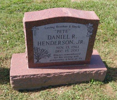 HENDERSON, JR., DANIEL R. - Clermont County, Ohio | DANIEL R. HENDERSON, JR. - Ohio Gravestone Photos