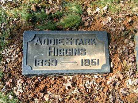 HIGGINS, ADDIE - Clermont County, Ohio | ADDIE HIGGINS - Ohio Gravestone Photos