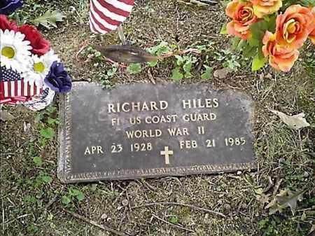 HILES, RICHARD - Clermont County, Ohio   RICHARD HILES - Ohio Gravestone Photos