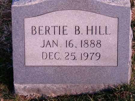 HILL, BERTIE  B - Clermont County, Ohio | BERTIE  B HILL - Ohio Gravestone Photos