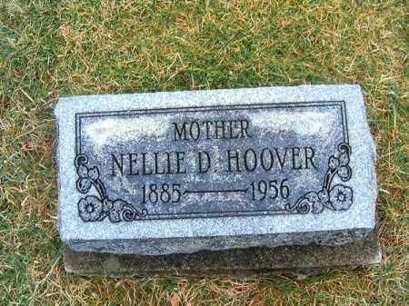 HOOVER, NELLIE  D - Clermont County, Ohio   NELLIE  D HOOVER - Ohio Gravestone Photos