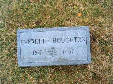 HOUGHTON, EVERETT  E - Clermont County, Ohio   EVERETT  E HOUGHTON - Ohio Gravestone Photos
