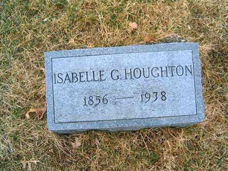 HOUGHTON, ISABELL  G - Clermont County, Ohio   ISABELL  G HOUGHTON - Ohio Gravestone Photos