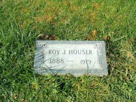 HOUSER, ROY  J - Clermont County, Ohio   ROY  J HOUSER - Ohio Gravestone Photos
