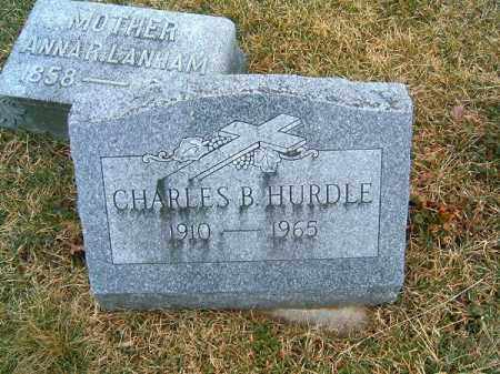 HURDLE, CHARLES   B - Clermont County, Ohio | CHARLES   B HURDLE - Ohio Gravestone Photos