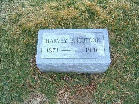 HUTSON, HARVEY  B - Clermont County, Ohio   HARVEY  B HUTSON - Ohio Gravestone Photos