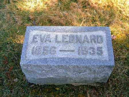 LEONARD, EVA - Clermont County, Ohio | EVA LEONARD - Ohio Gravestone Photos