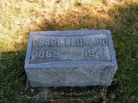 LEONARD, PEARL - Clermont County, Ohio   PEARL LEONARD - Ohio Gravestone Photos