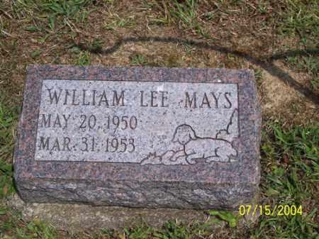 MAYS, WILLIAM LEE - Clermont County, Ohio   WILLIAM LEE MAYS - Ohio Gravestone Photos