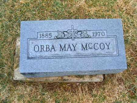 MCCOY, ORBA  MAY - Clermont County, Ohio   ORBA  MAY MCCOY - Ohio Gravestone Photos