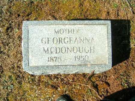 MCDONOUGH, GEORGEANNA - Clermont County, Ohio | GEORGEANNA MCDONOUGH - Ohio Gravestone Photos