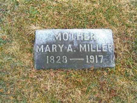 MILLER, MARY  A - Clermont County, Ohio | MARY  A MILLER - Ohio Gravestone Photos