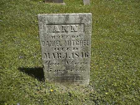 MITCHEL, ANN - Clermont County, Ohio   ANN MITCHEL - Ohio Gravestone Photos