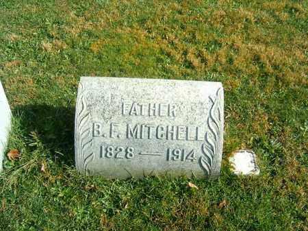 MITCHELL, B  F - Clermont County, Ohio | B  F MITCHELL - Ohio Gravestone Photos